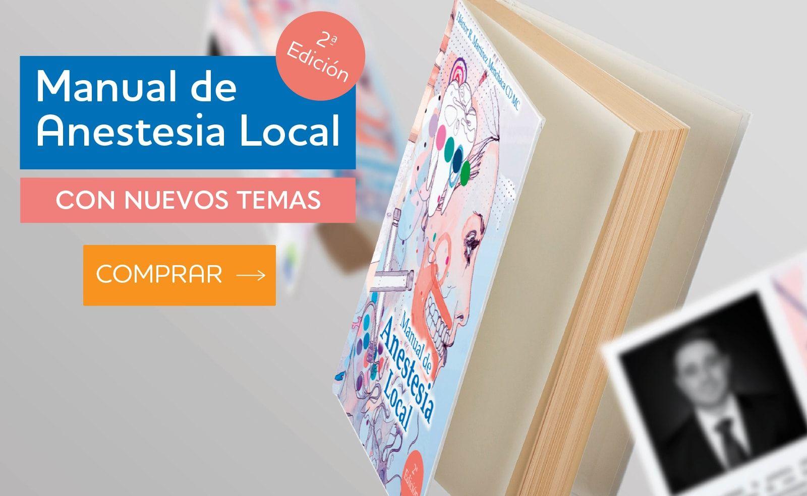 Manual de Anestesia Local materiales dentales Home tesar regular 100 min